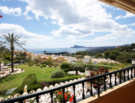 CHFi718: Modern apartment with panoramic sea views in Altea Hills for sale, Ducado Real - Main