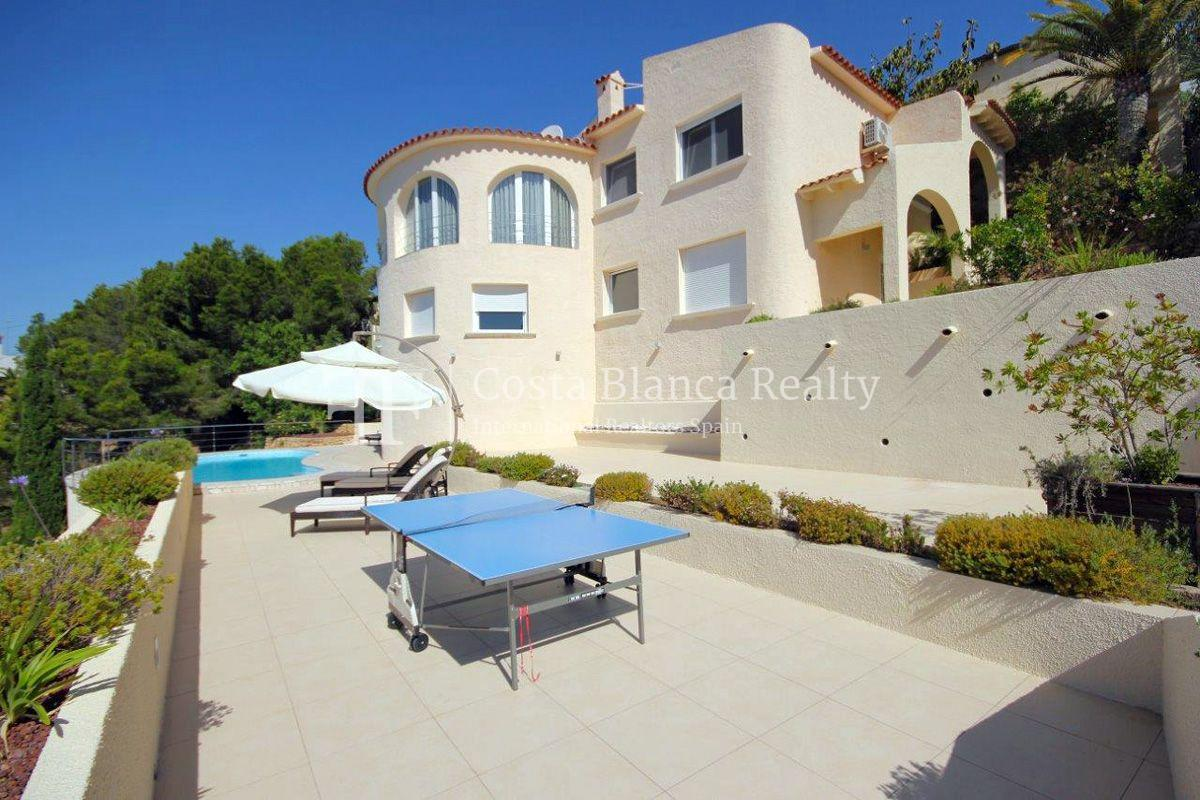 Beautifully renovated house / villa with sea views in Altea for sale, Sierra de Altea - 1 - FPAS105