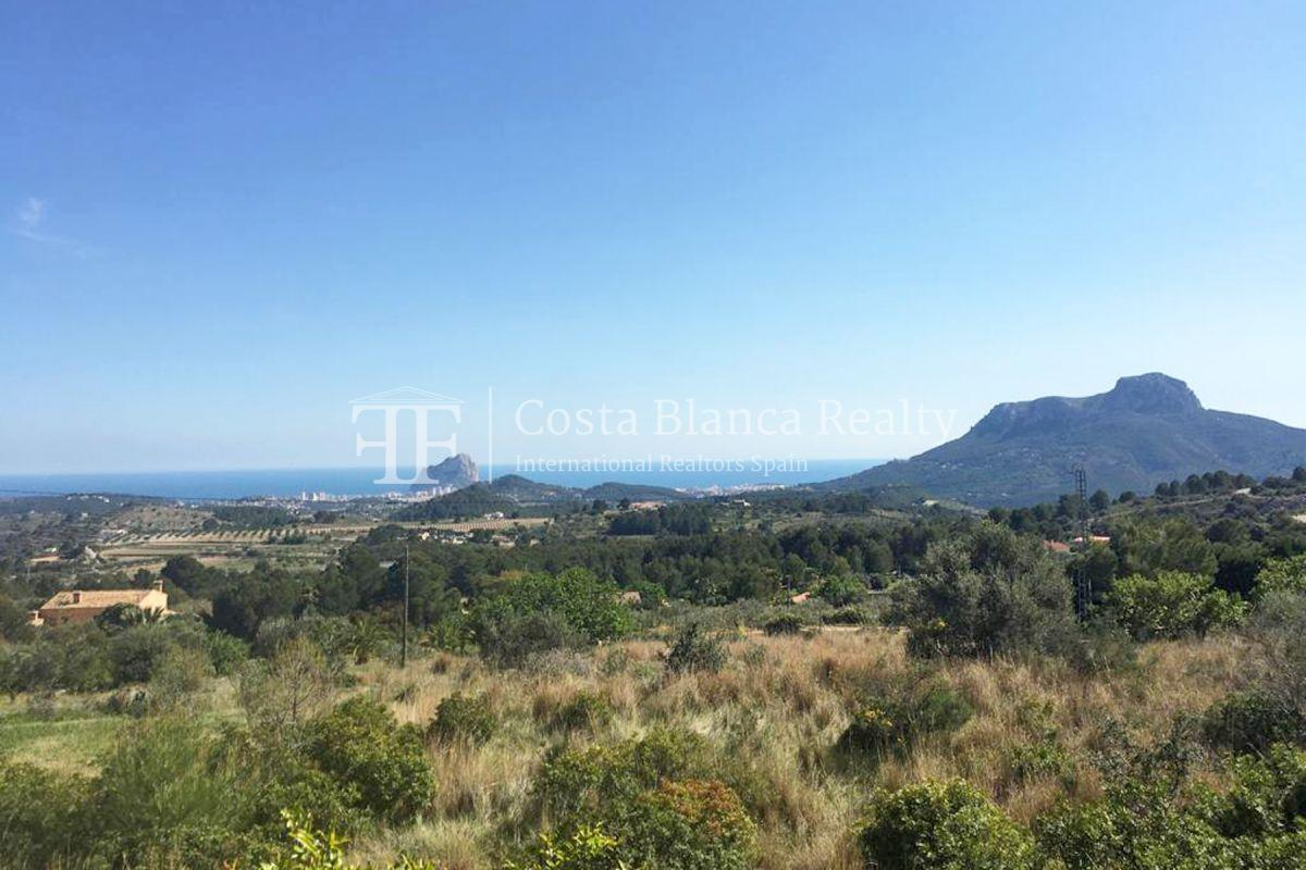 Wonderful finca with great panoramic sea views in Benissa - 32 - CHFi865