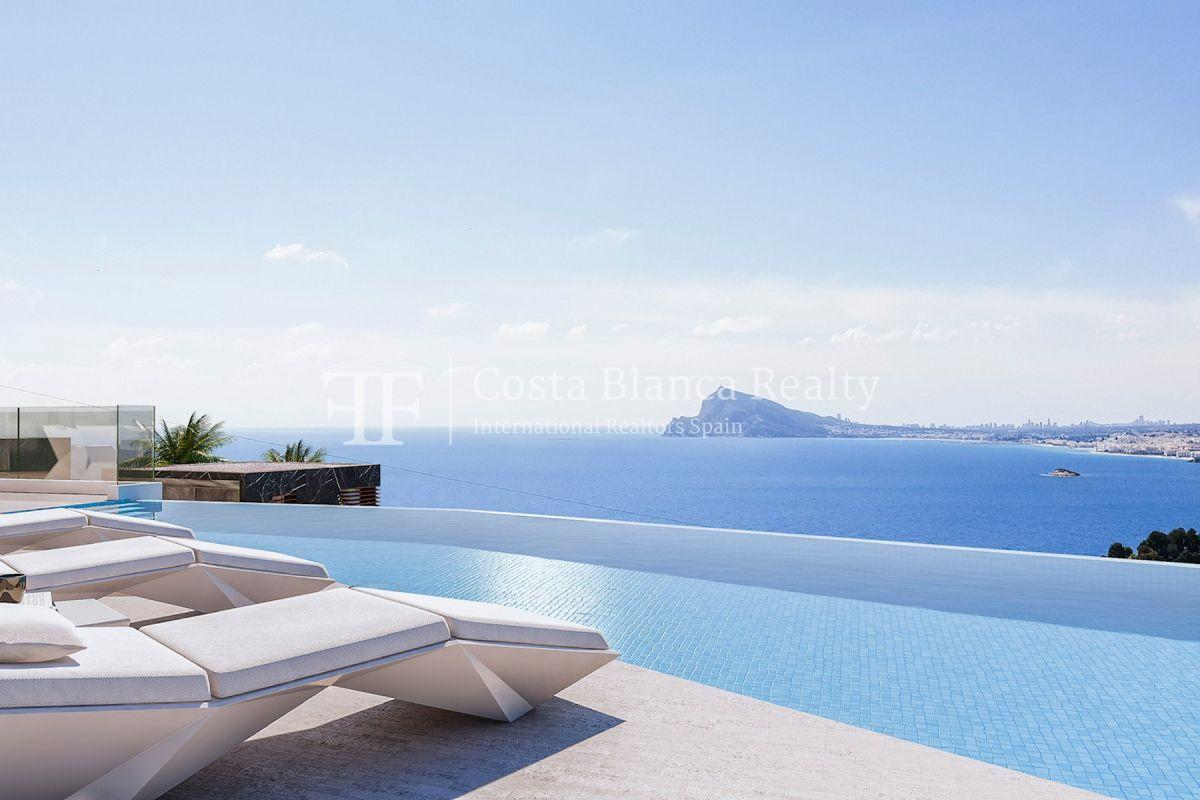 Modern villa for sale with stunning sea views in Altea - 6 - CHFi842