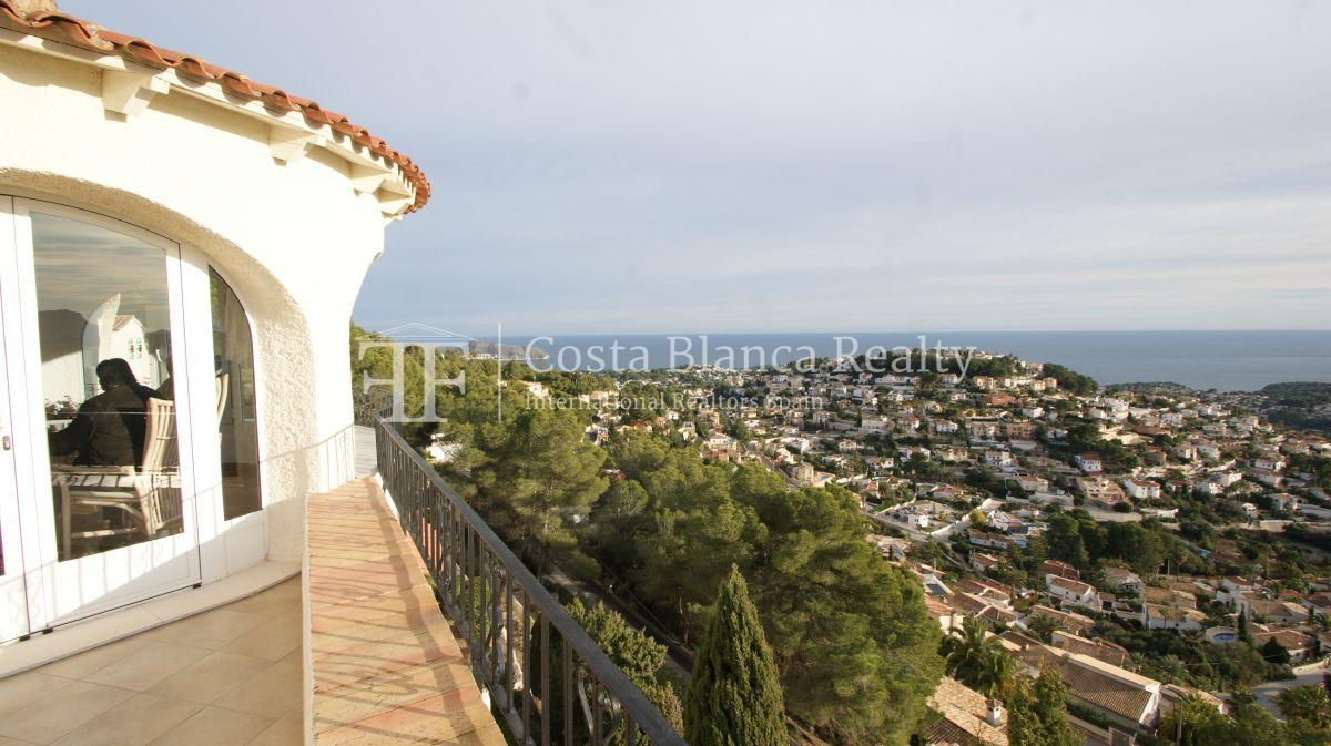 Villa for sale in Benissa with panoramic sea views on a large plot - 44 - CHFi655