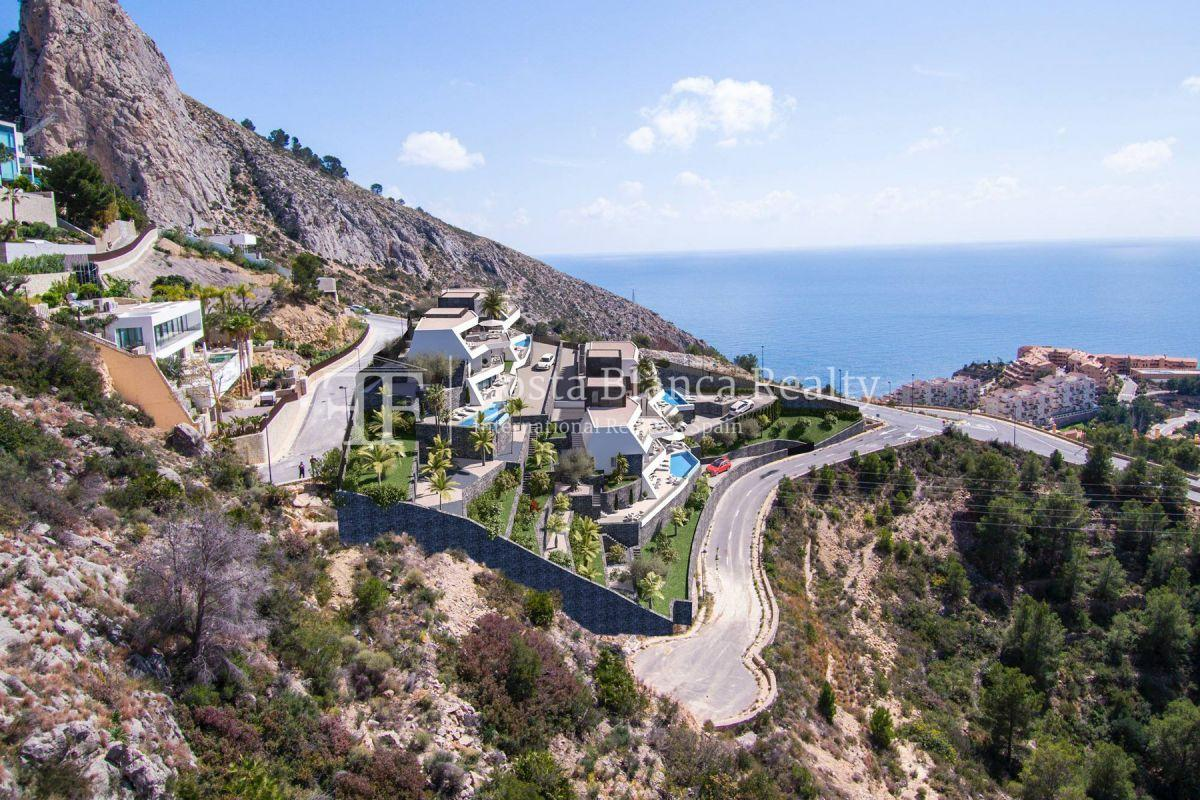 Modern villa for sale with stunning sea views in Altea - 3 - CHFi842
