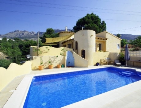 CHFi496: Newly renovated house with good sea view in Galera de las Palmeras, Altea - Main