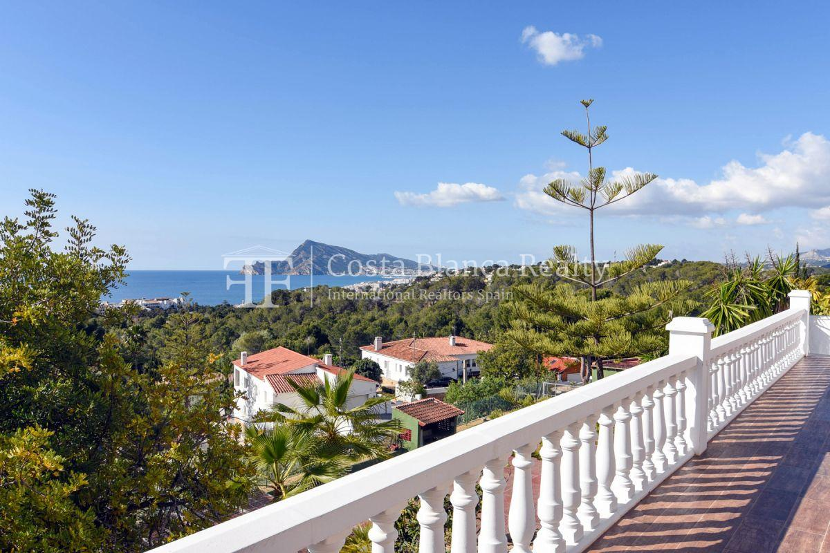 Fantastic villa with panoramic sea views in Altea - 28 - CHFi798