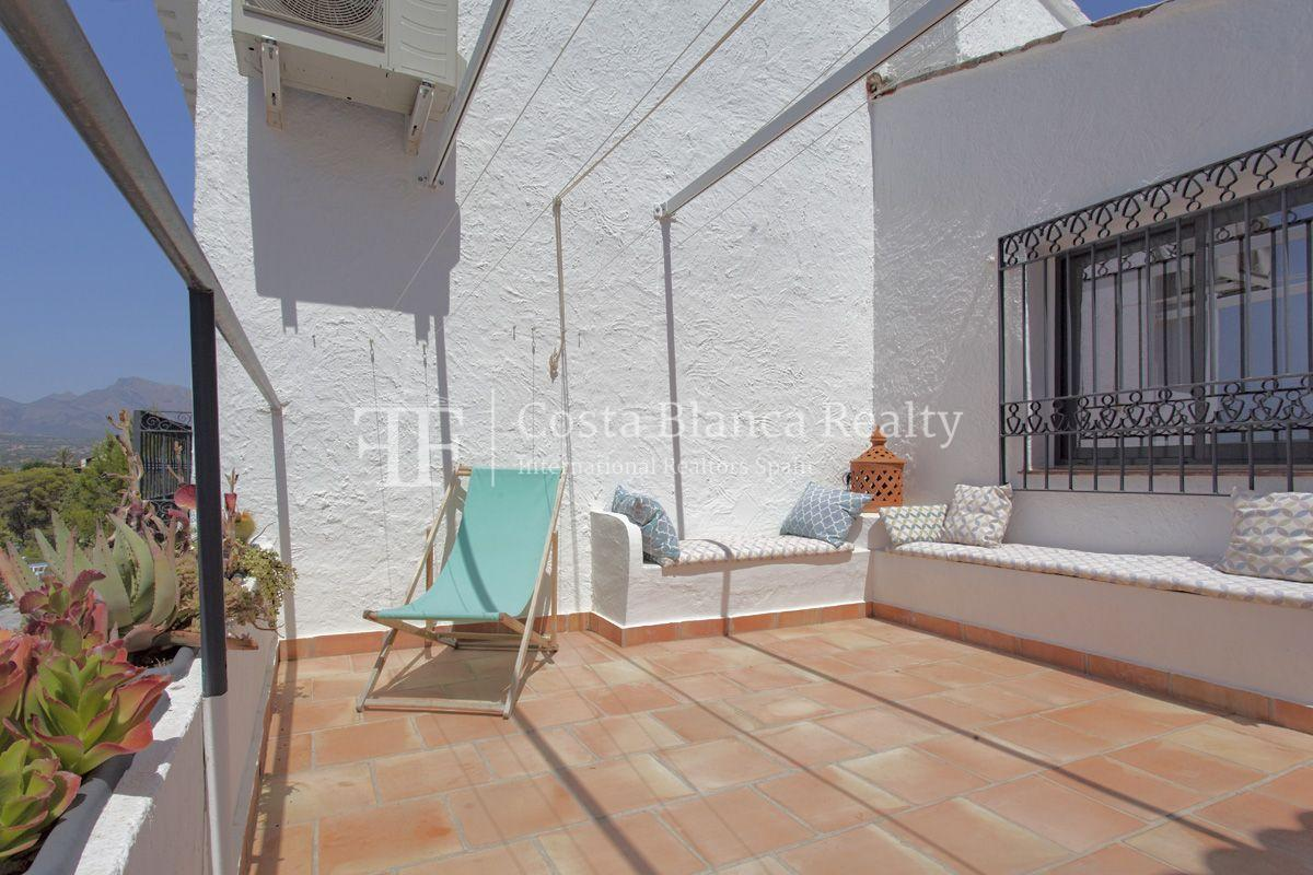 ++SOLD BY COSTABLANCA-REALTY.COM++ Villa for sale in San Chuchim in Ibiza style with panoramic sea views, Altea / Old Town - 32 - CHFi704