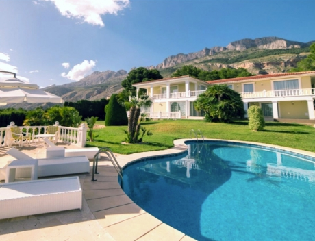 CHFi762: Impressive villa in the Sierra de Altea with 360º panoramic sea views - Main