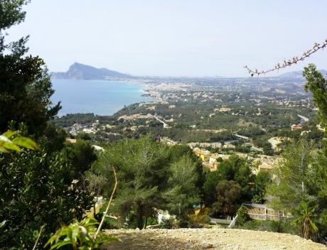 CHFi492: ++SOLD BY COSTABLANCA-REALTY.COM++ Great plot with privacy and spectacular panoramic Sea Views, Altea Hills - Main