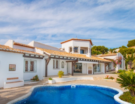 CHFI846: Villa in first line of the sea in Moraira  - Main