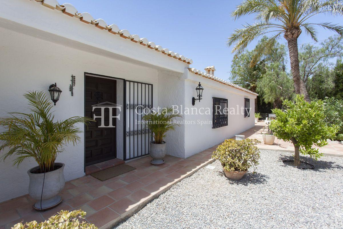 ++SOLD BY COSTABLANCA-REALTY.COM++ Villa for sale in San Chuchim in Ibiza style with panoramic sea views, Altea / Old Town - 55 - CHFi704