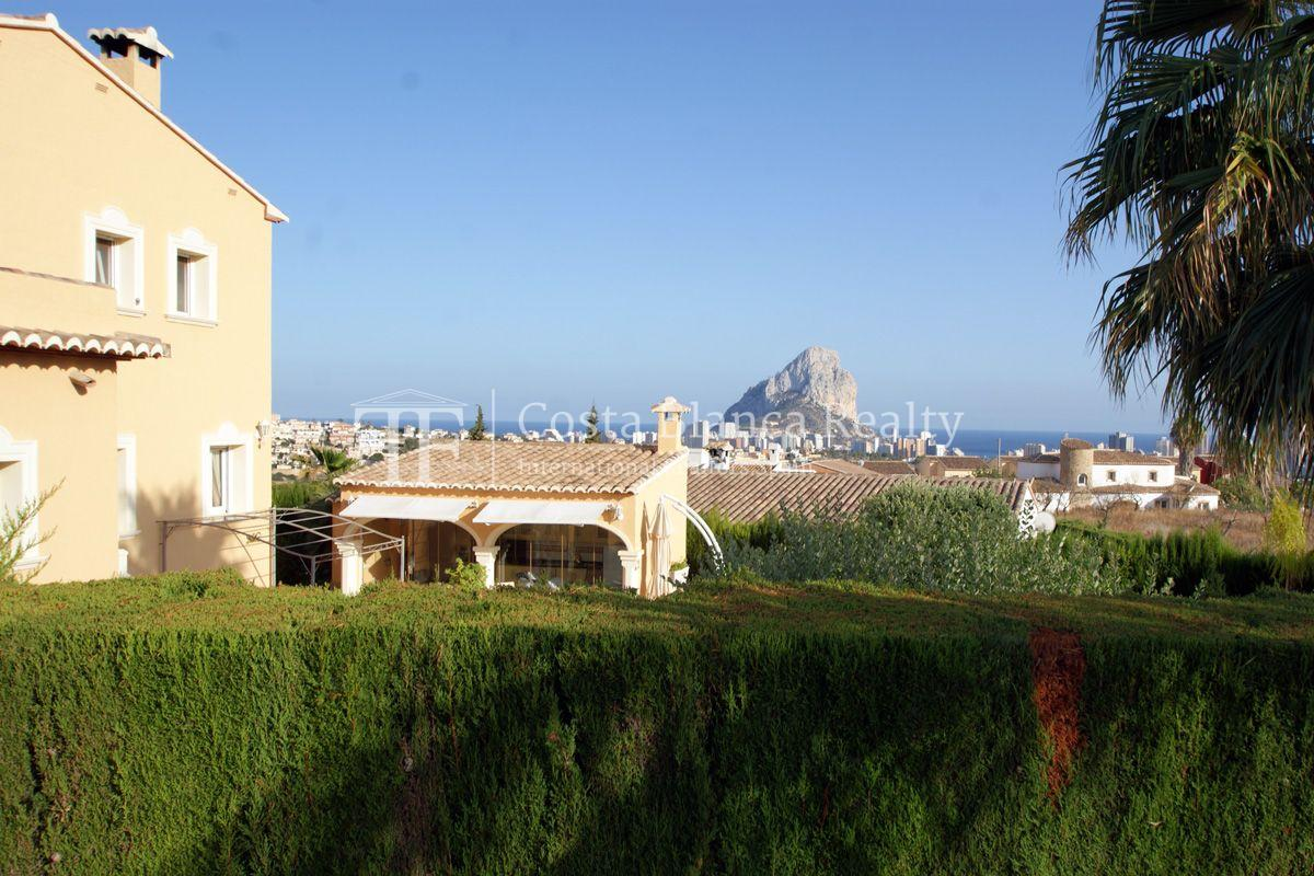 Very nice one level property with unobstructable sea view in Calpe - 43 - CHFi543