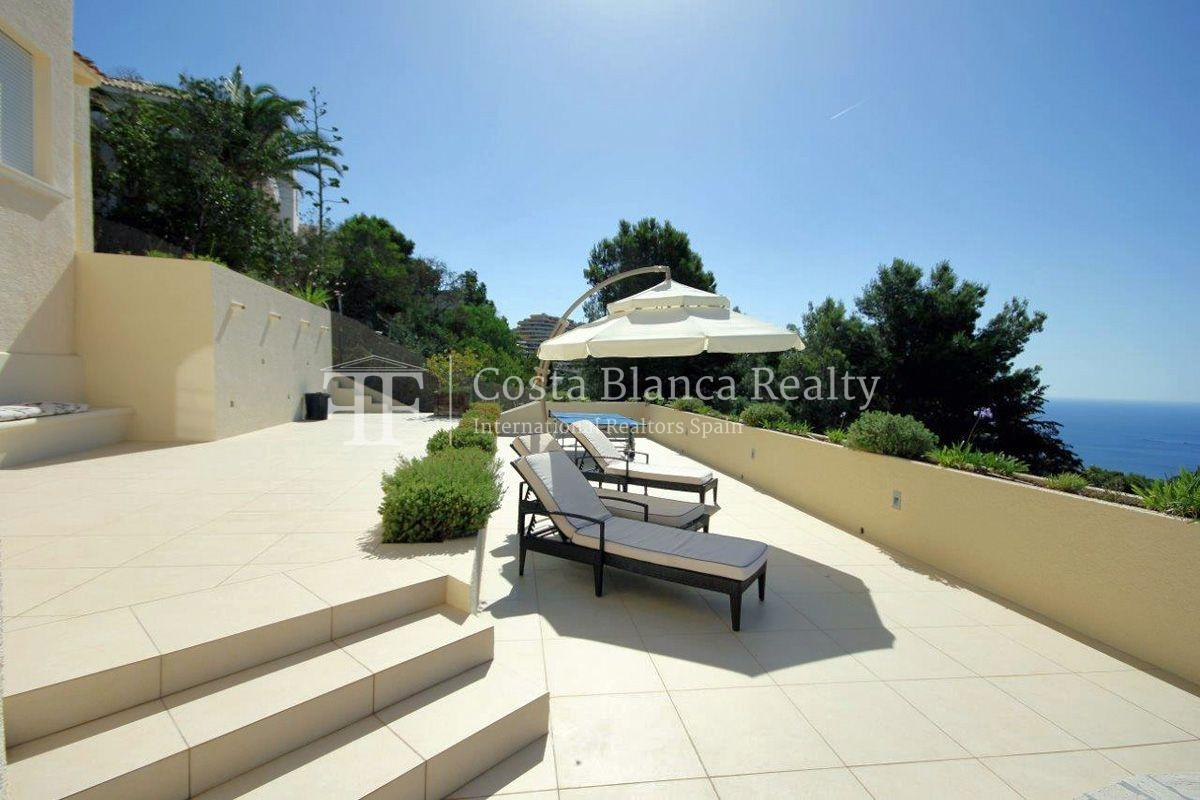 Beautifully renovated house / villa with sea views in Altea for sale, Sierra de Altea - 15 - FPAS105