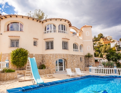 CHFi392: Villa with breathtaking views over Calpe and its bay - Main