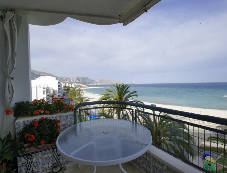 ASOL105: First sea line apartment with stunning sea views, Altea center - Main