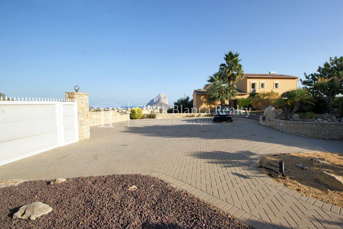 Very nice one level property with unobstructable sea view in Calpe - 53 - CHFi543