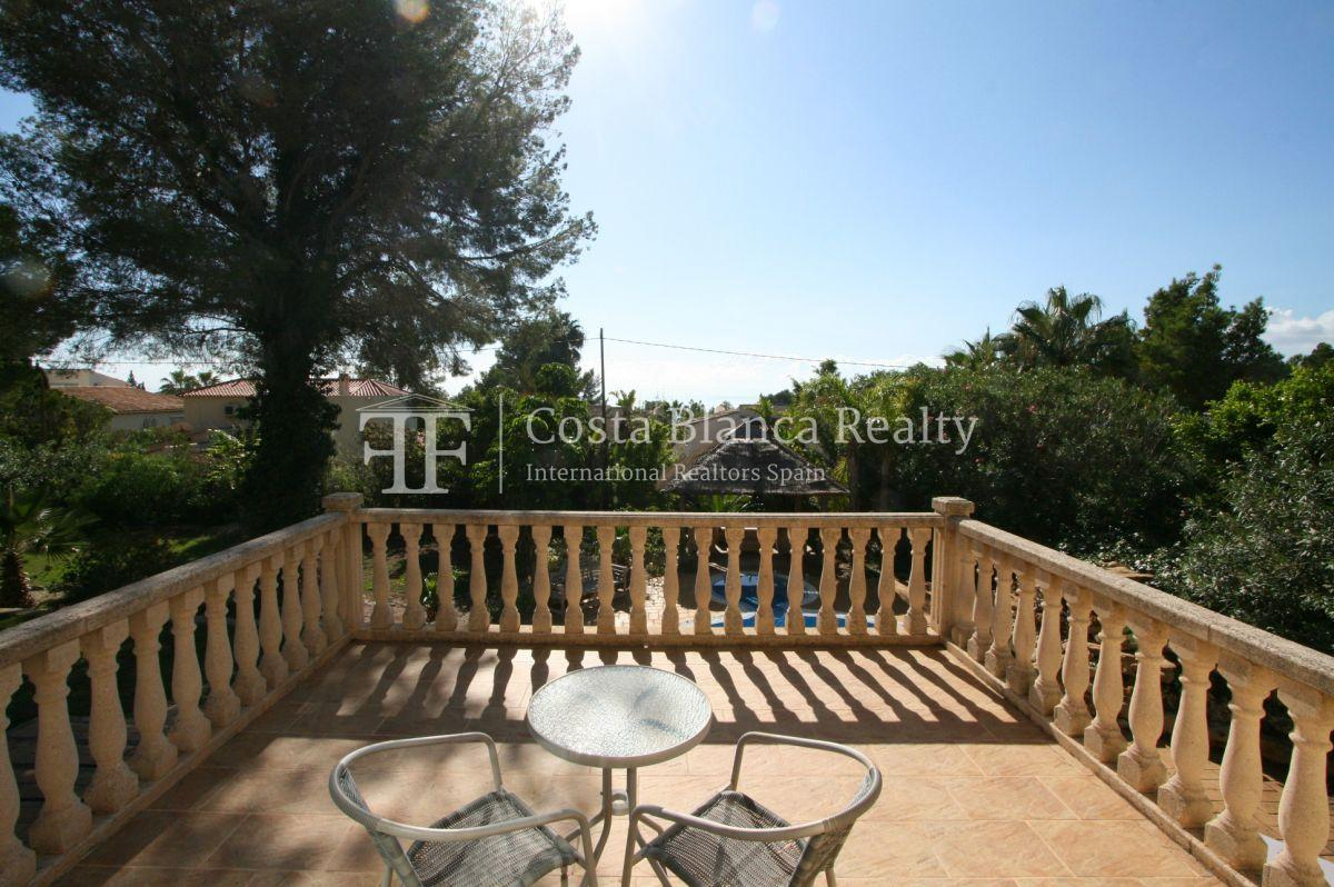 Wonderful Villa at the Sierra de Altea built on a large plot with sea view - 23 - CHFi556