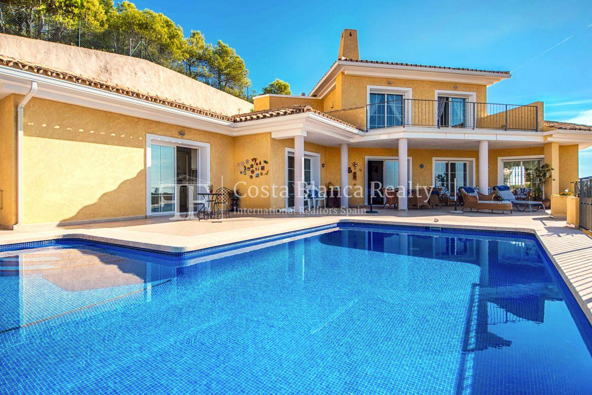 Great villa with panoramic sea views on Altea, Santa Clara - 2 - CHFi785