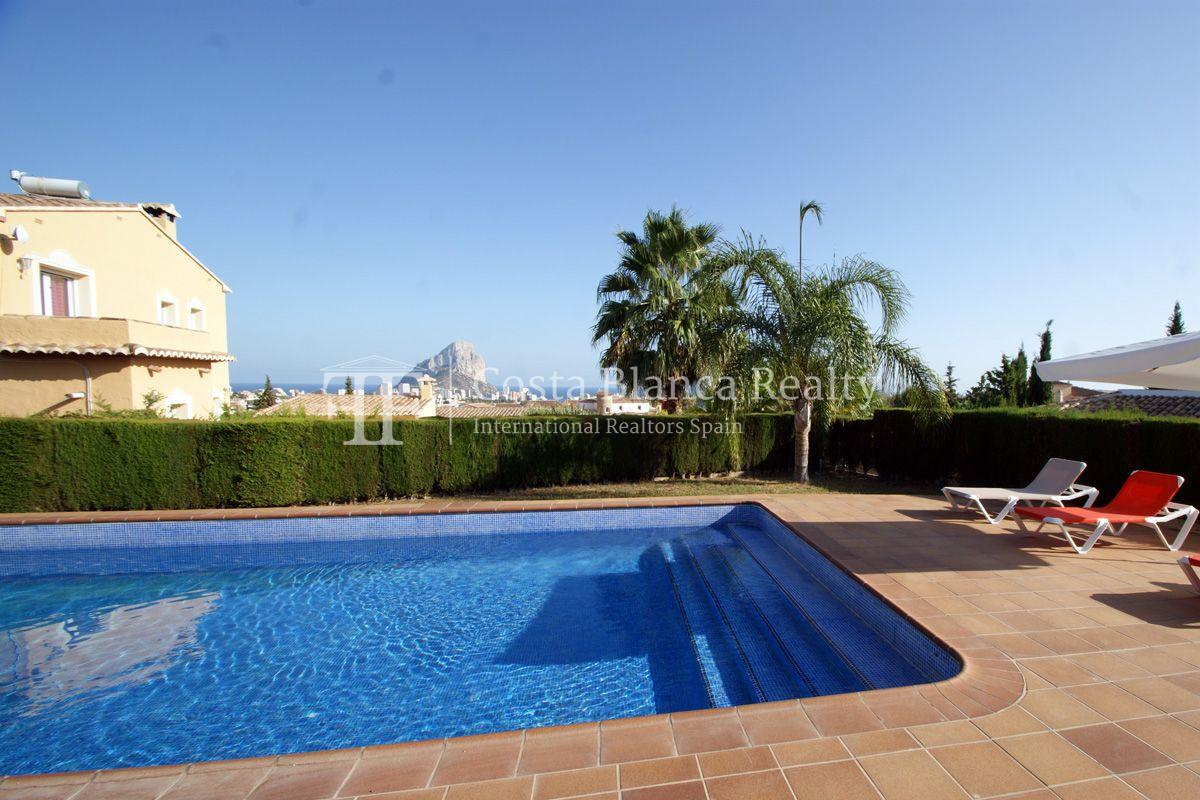 Very nice one level property with unobstructable sea view in Calpe - 2 - CHFi543
