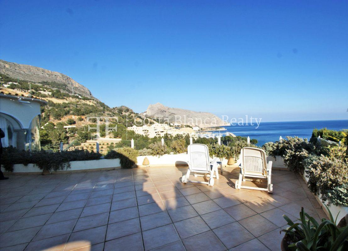 Great house with panoramic sea views for sale, Altea, Mascarat - 26 -  CHFi488