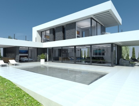 New build house / modern luxury villa in Calpe, near the center and the sea, investment opportunity