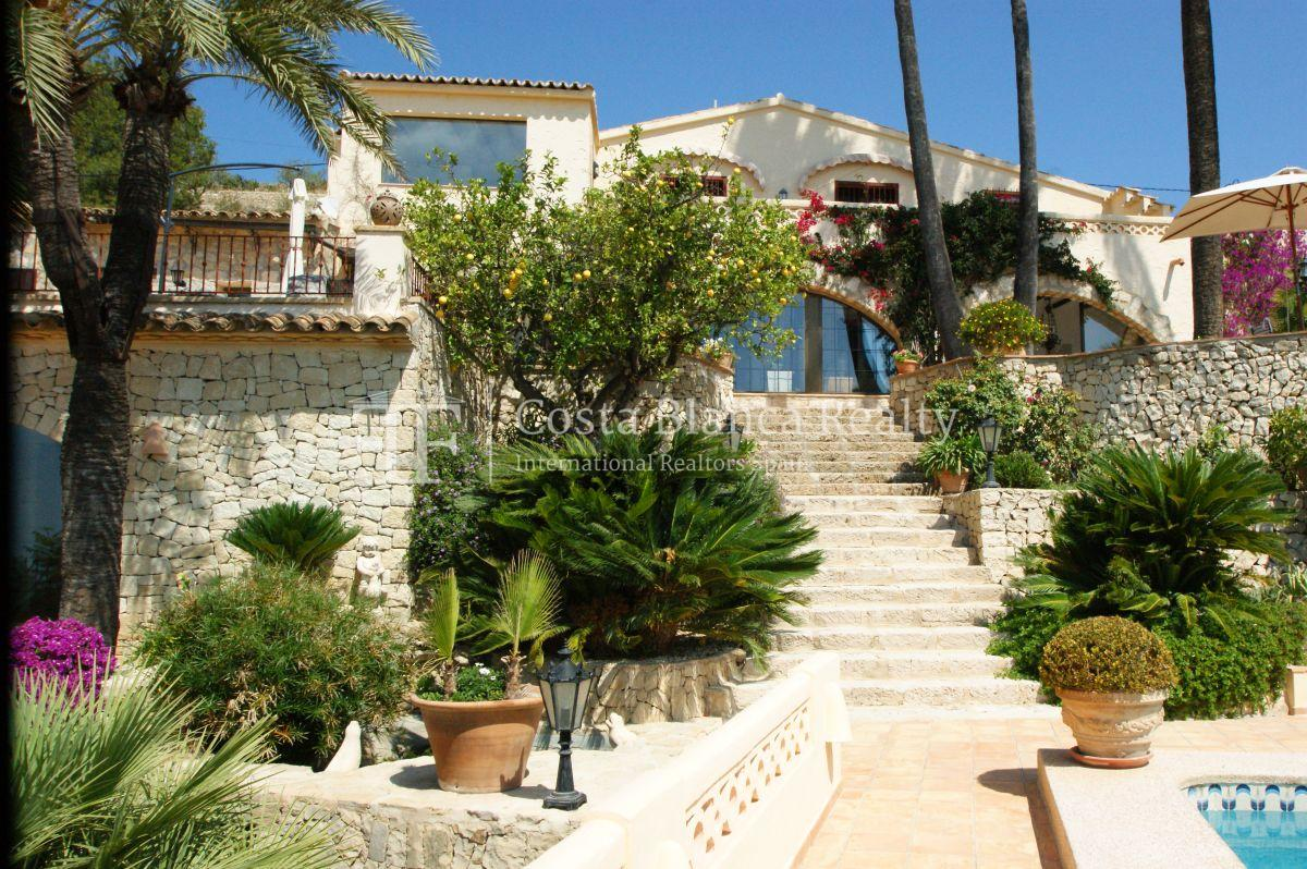 Great modern finca with panoramic sea views in Benissa - 4 - CHFi501