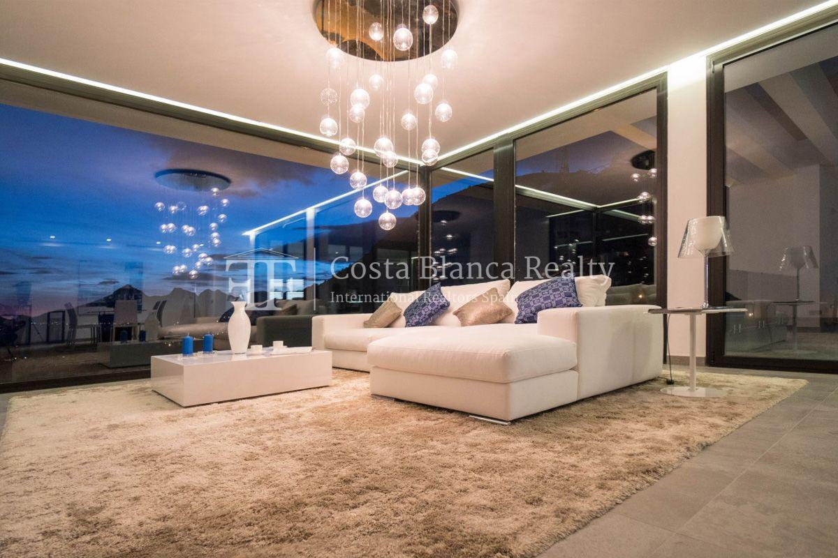 New luxury villa with exceptional sea view, Altea Hills - 5 - CHFi472