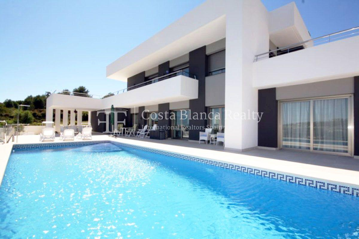 Modern Villa built in 2013 with Seaviews in Solpark, Moraira, Spain - 19 - CHFi458