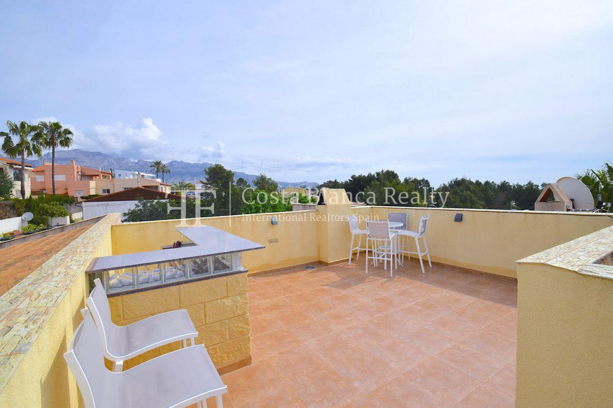 Beautifully renovated villa with sea views in Altea, Montahud - 26 - CHFi743