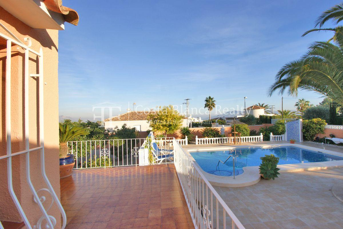 Wonderfully maintained house with sea views in La Nucia - 26 - CHFi763