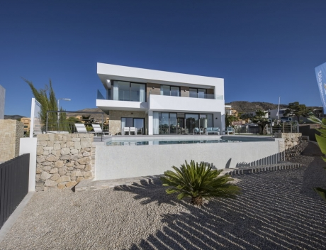CHFi345: One of 8 new luxury villas in Sierra Cortina, Finestrat - Main