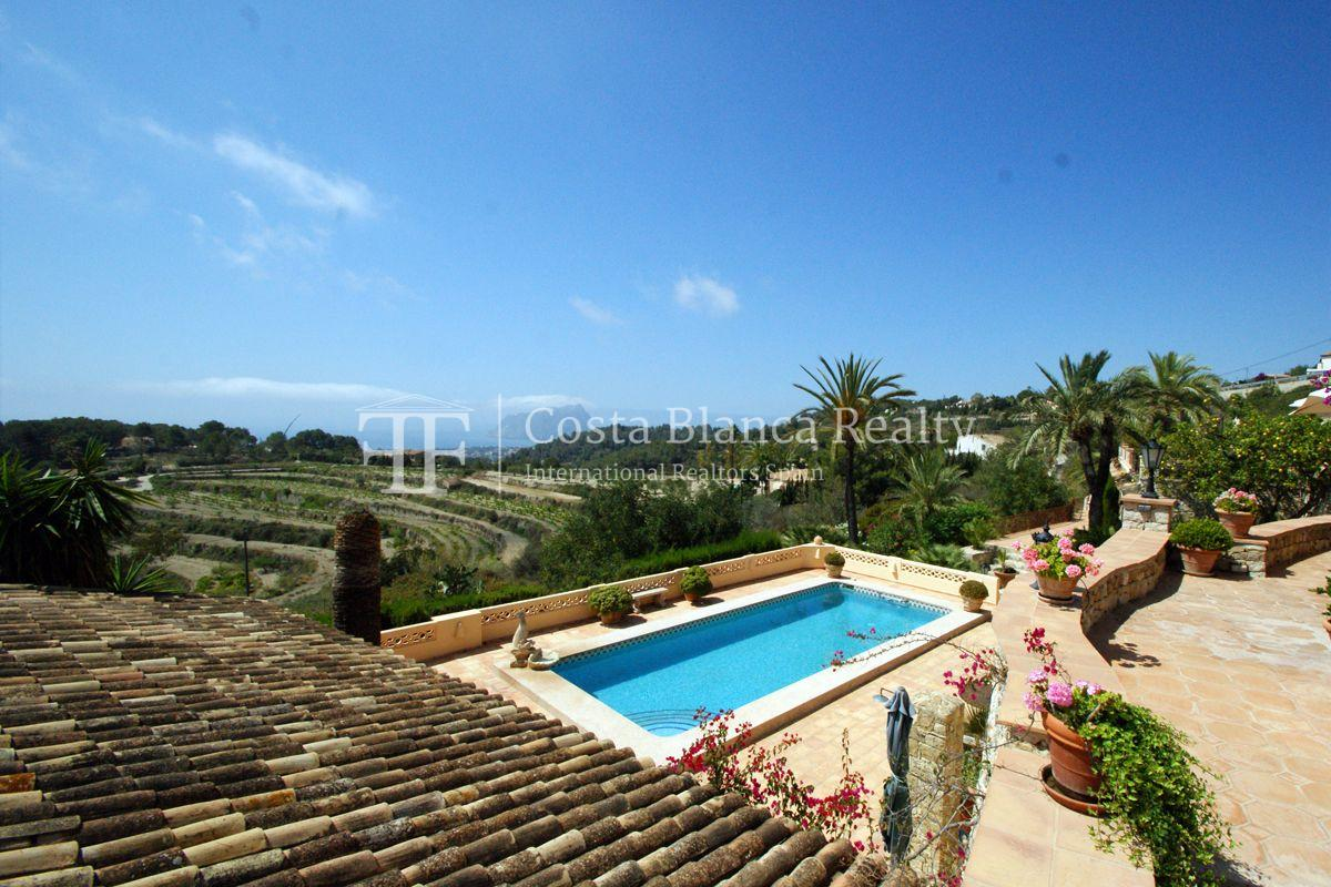 Great modern finca with panoramic sea views in Benissa - 55 - CHFi501