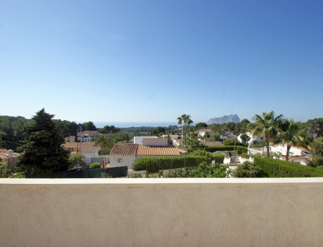 CHFi985: Beautifully renovated villa in Fanadix in Benissa for sale with great panoramic sea views  - Main