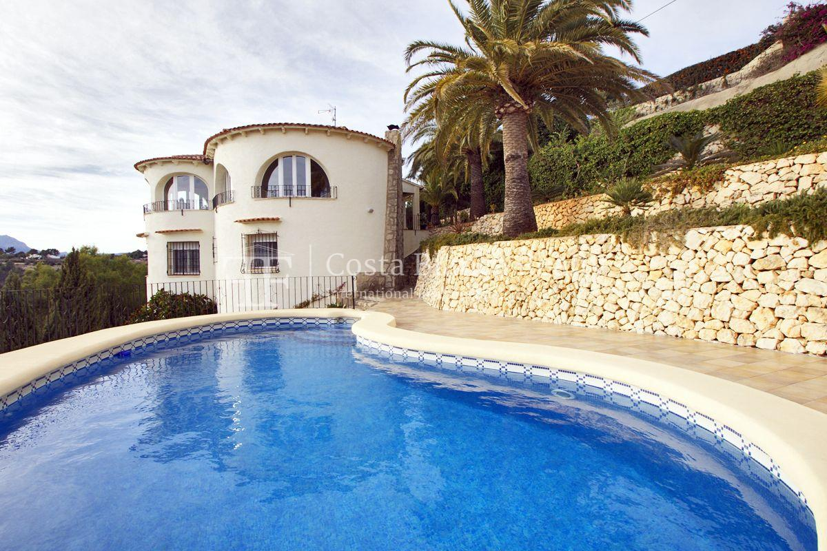 Villa for sale in Benissa with panoramic sea views on a large plot - 1 - CHFi655