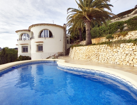 CHFi655: Villa for sale in Benissa with panoramic sea views on a large plot - Main