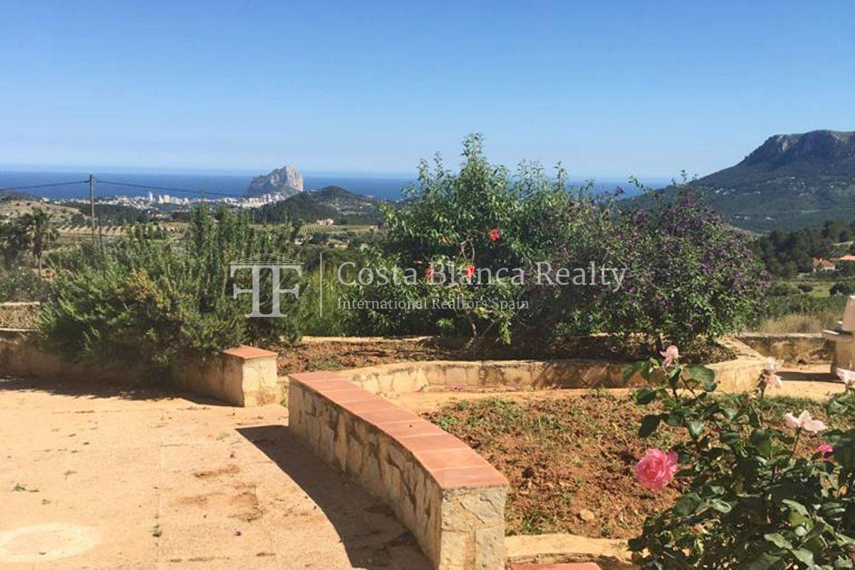 Wonderful finca with great panoramic sea views in Benissa - 14 - CHFi865