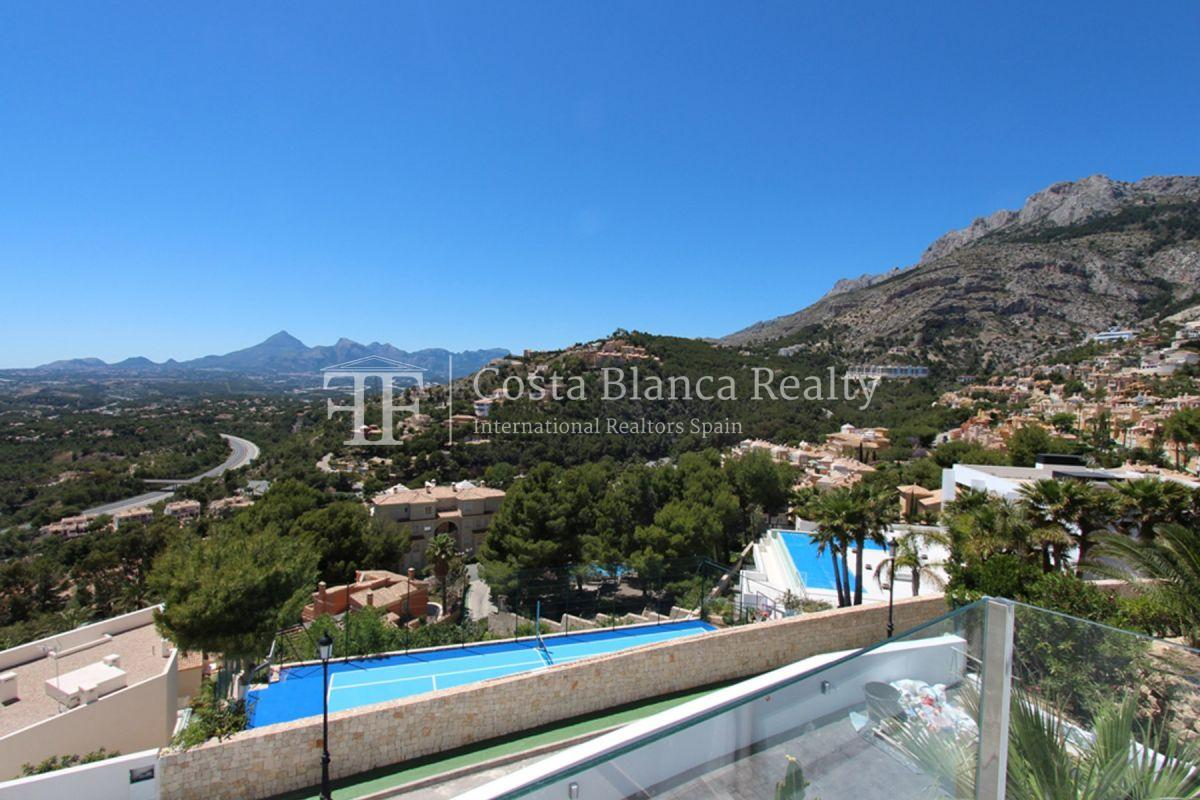 Modern villa with great views for sale in Altea Hills - 37 - CHFi820