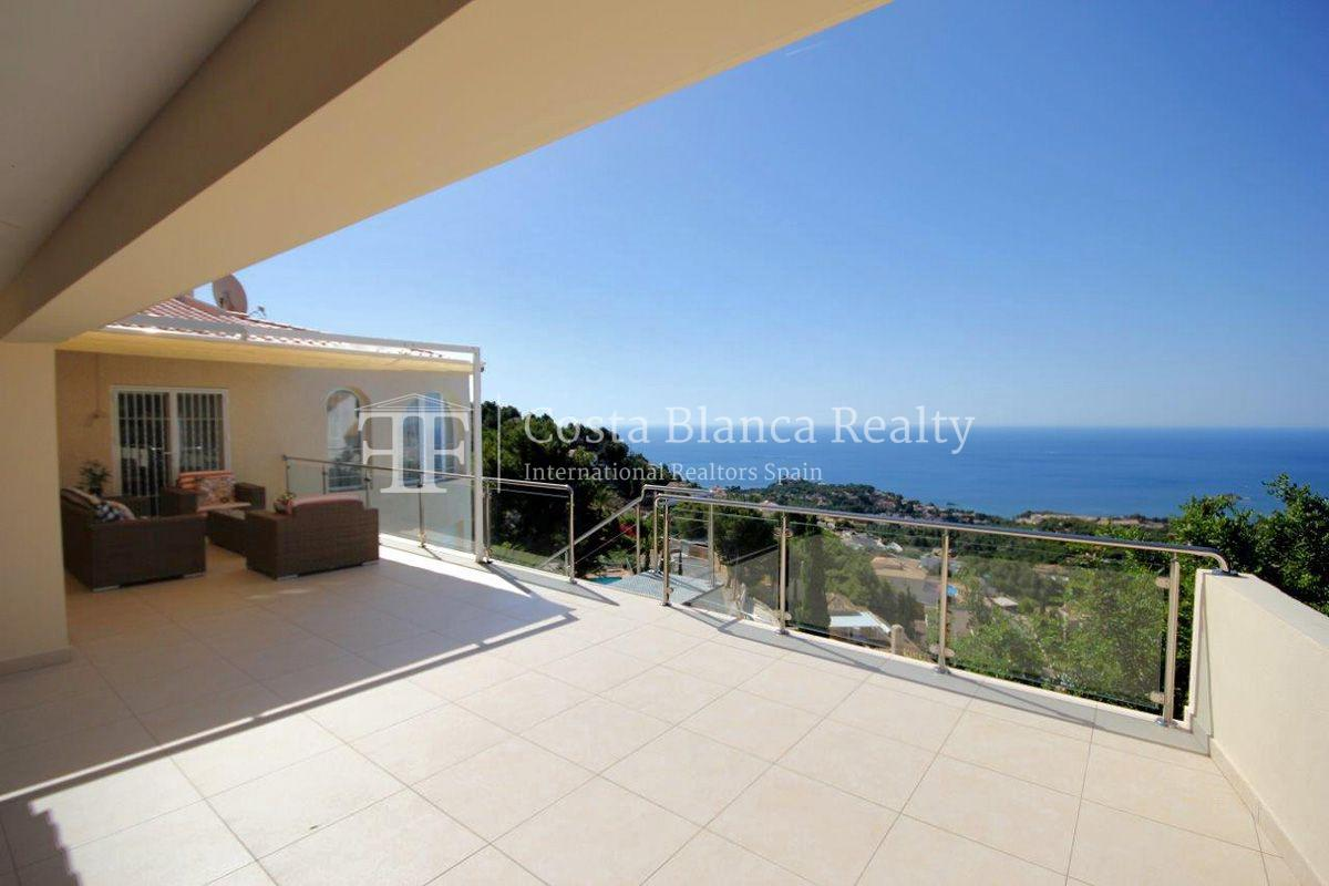 Beautifully renovated house / villa with sea views in Altea for sale, Sierra de Altea - 12 - FPAS105