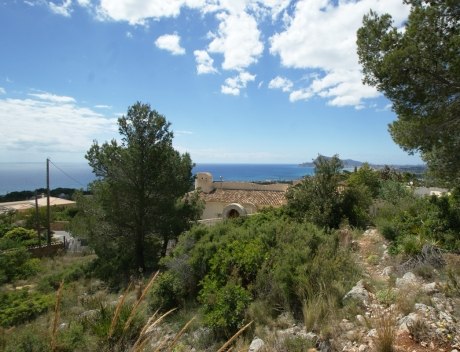 Magnificent building plot with fantastic panoramic sea views, Altea