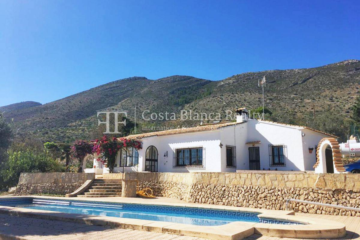 Wonderful finca with great panoramic sea views in Benissa - 3 - CHFi865