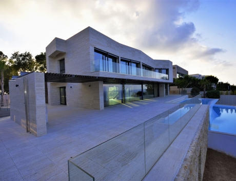 CHFi727: New build luxury villa in Javea at the first sea line - Portixol - Spain - Main