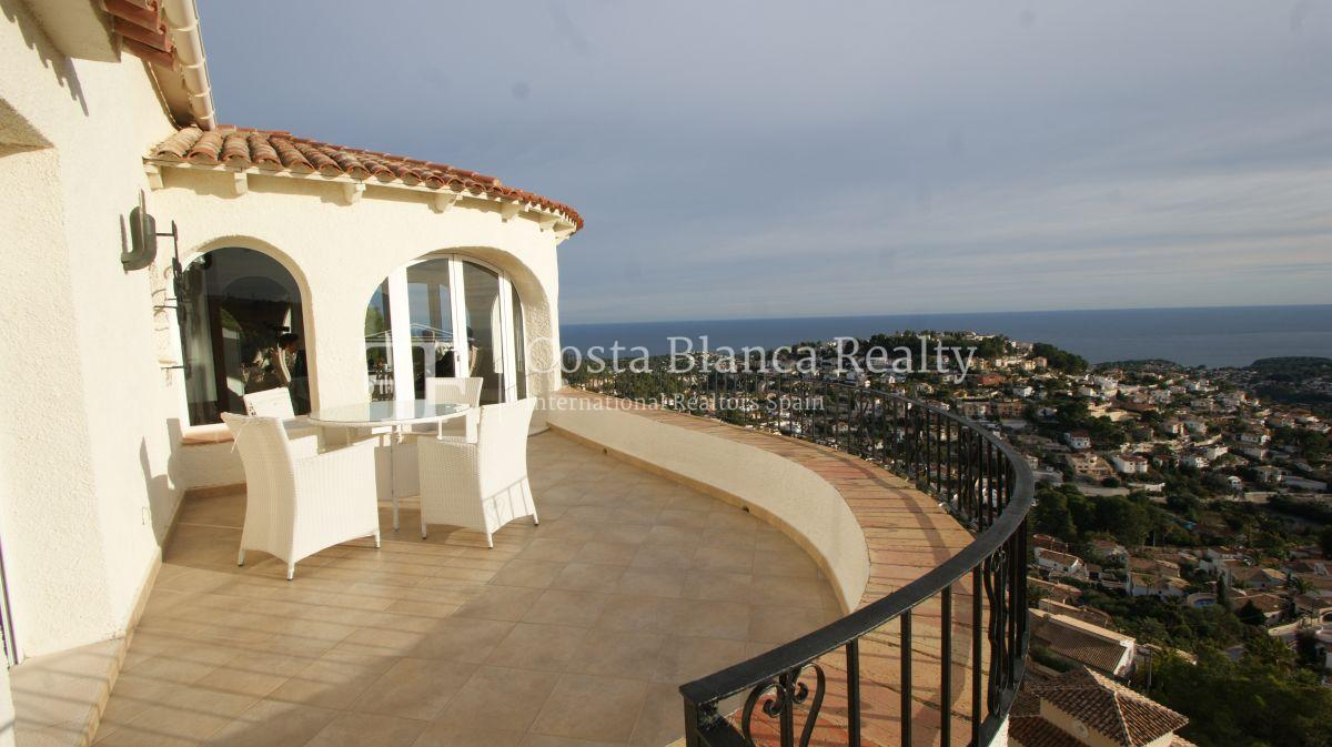 Villa for sale in Benissa with panoramic sea views on a large plot - 43 - CHFi655