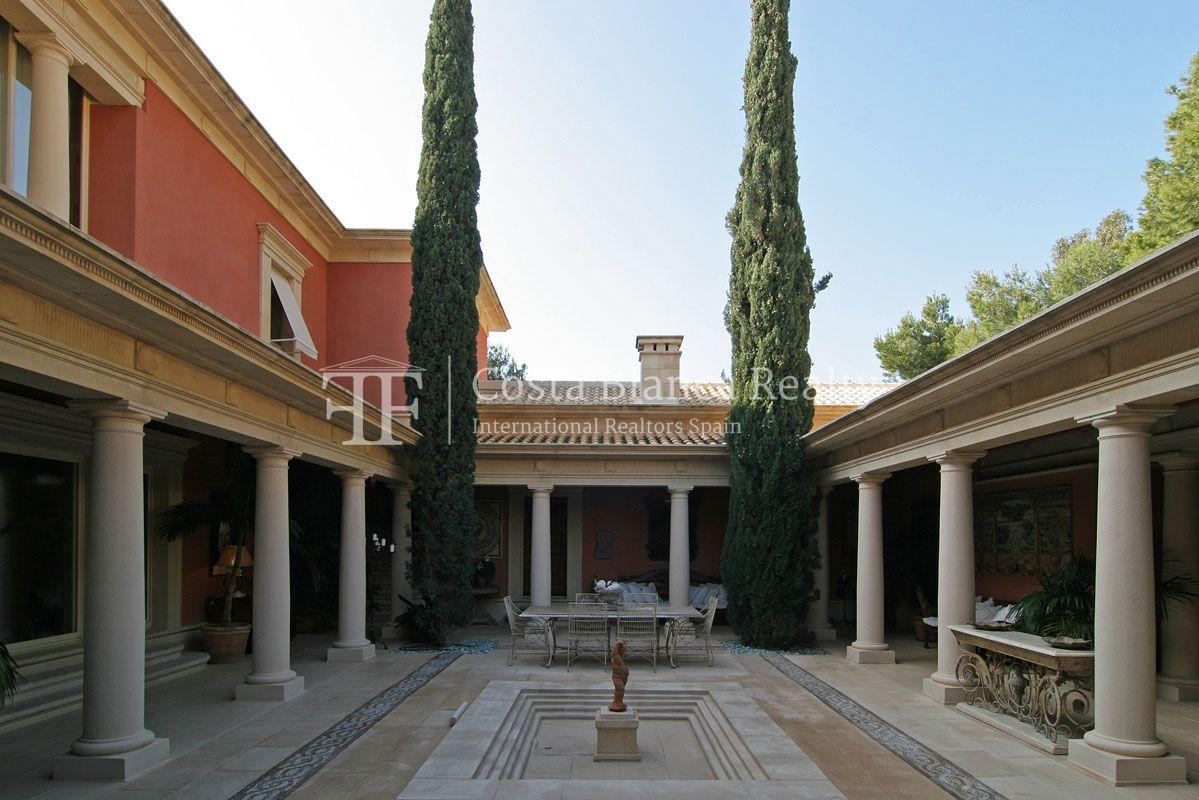 Beautiful villa in Roman style in Altea for sale, Sierra de Altea Golf - 10 - JOFi234