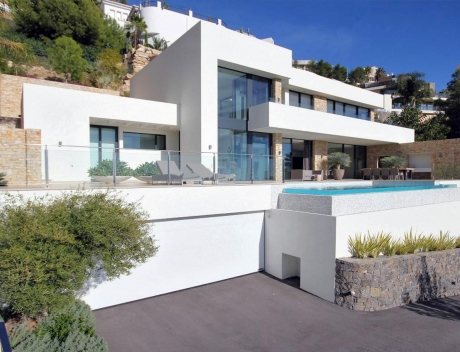 CHFi713: Modern luxury newly built villa with panoramic sea views in Altea Hills - Main