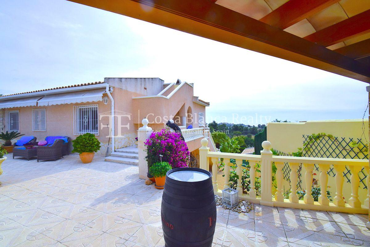 Beautifully renovated villa with sea views in Altea, Montahud - 33 - CHFi743