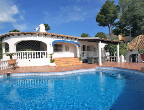 CHFi755: Spanish style villa with panoramic sea views, Altea la Vella - Main