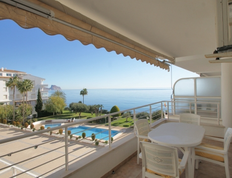 CHFi703: Nice first line apartment with sea access, Altea, Cap Negret, La Olla - Main