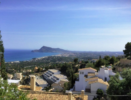 FPAS112: Building plot with beautiful sea views in Altea - Main