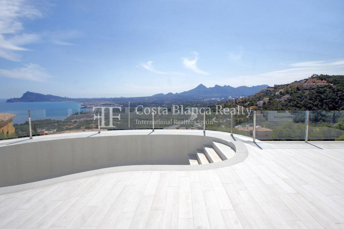 Modern villa with great views for sale in Altea Hills - 39 - CHFi820