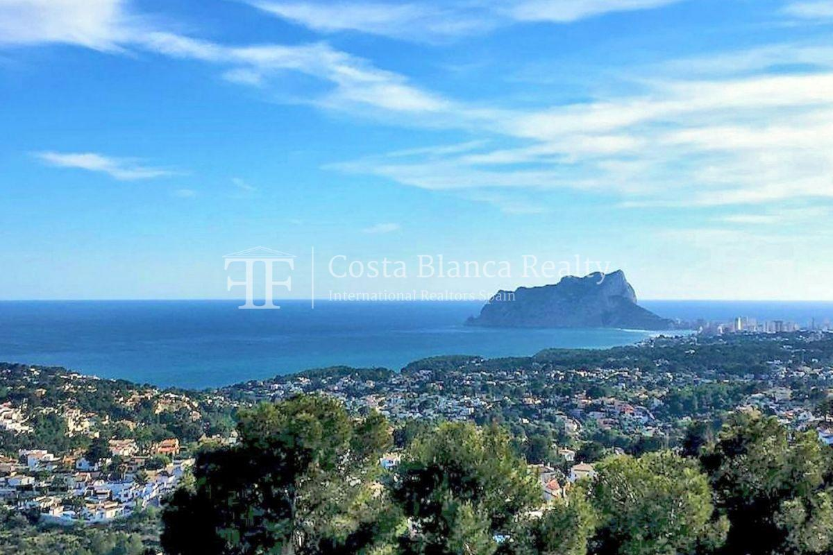 New build villa with panoramic sea views for sale in Moraira - 8 - CHFi782