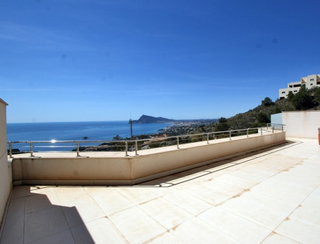 CHFi439: Modern apartment with great terrace and panoramic sea views, Altea - Main