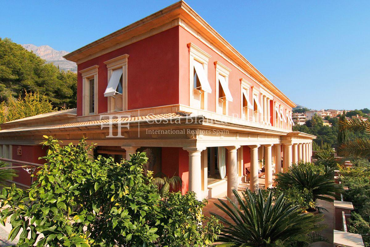 Beautiful villa in Roman style in Altea for sale, Sierra de Altea Golf - 2 - JOFi234